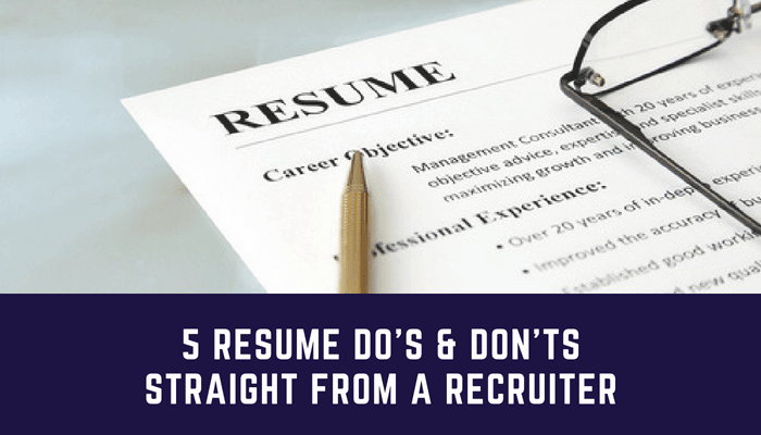 Tips To Make Your Resume Stand Out