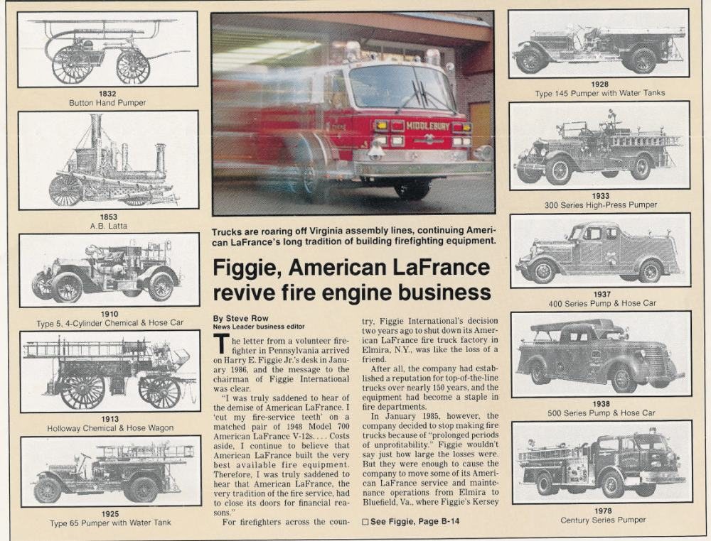 medium resolution of nothing can be related regarding american lafrance without first beginning in new york s southern tier the home of american lafrance from 1873 to 1985