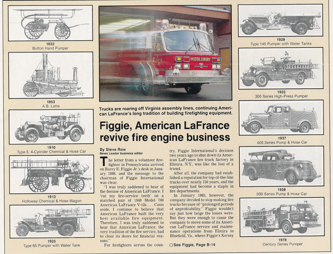 hight resolution of nothing can be related regarding american lafrance without first beginning in new york s southern tier the home of american lafrance from 1873 to 1985