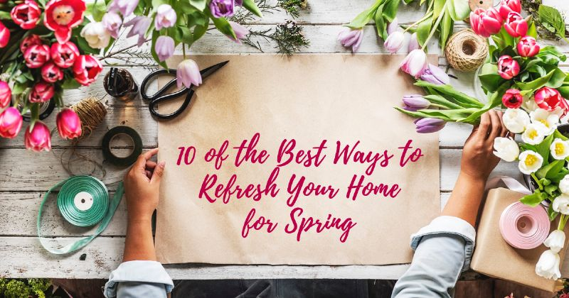 topsail spring refresh for your home