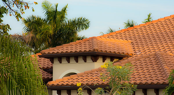 clay tile roofing maintenance bay