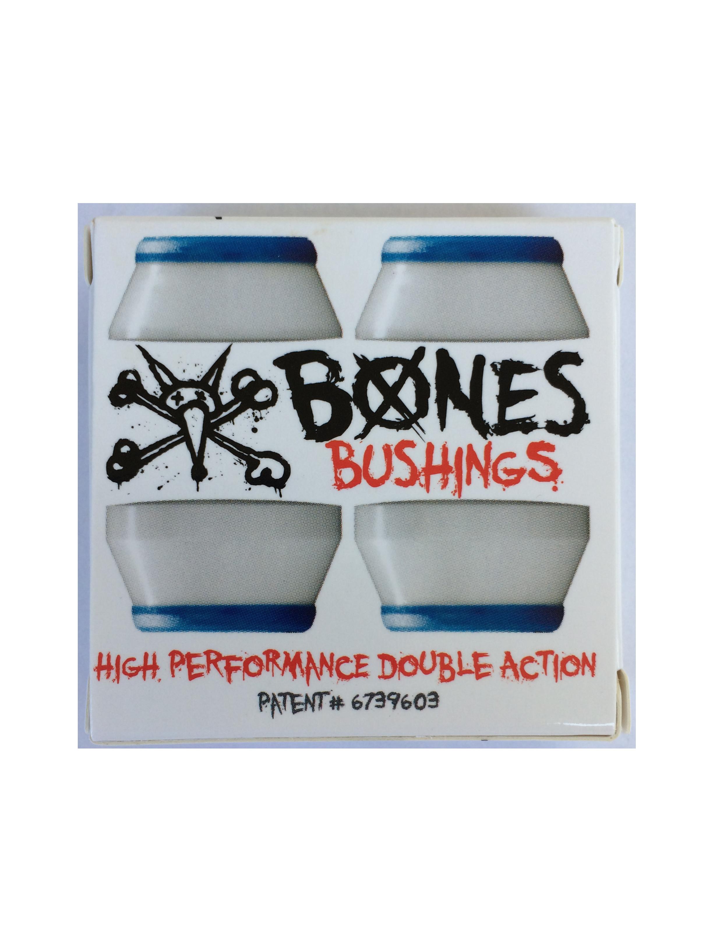 Bones Soft White Skateboard Bushings 81a Century Skate Shop
