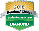 Readers' Choice - Diamond Winner 2018