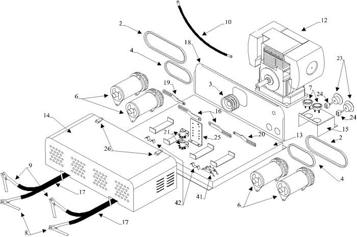 Delco Generator Wiring Diagram 10Si Alternator Diagram