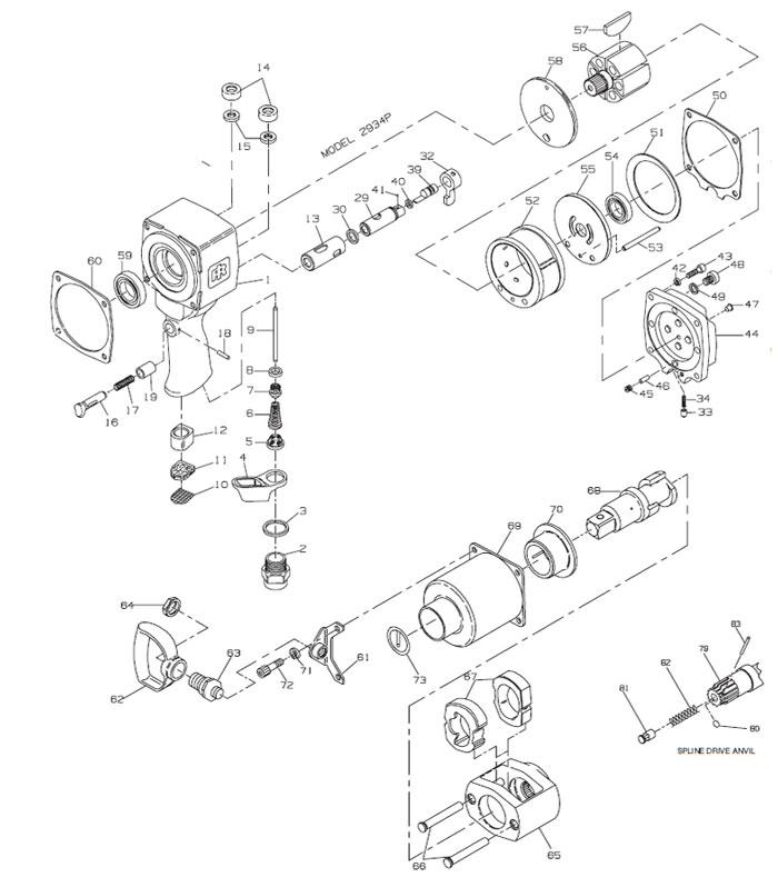 Ingersoll-Rand 2934P 1