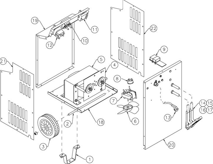 6009 Associated Battery Charger Parts List