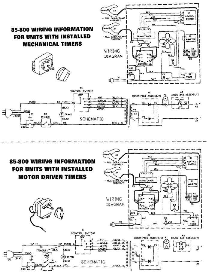 schumacher battery charger wiring diagram solved se125a schematic and 2002 vw jetta ac manual e books 85 800 napa parts