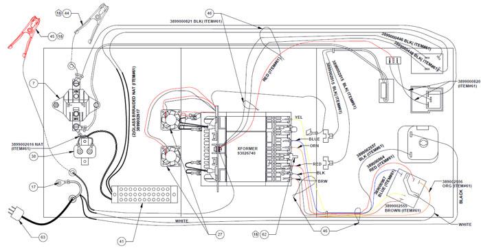 SE-8050 Schumacher Battery Charger Parts List