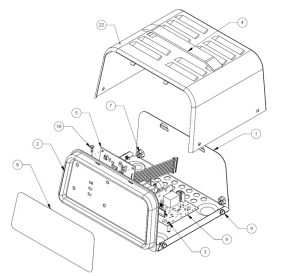 SE826CA Schumacher Battery Charger Parts List