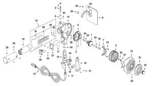 Master Heat Gun Replacement Parts