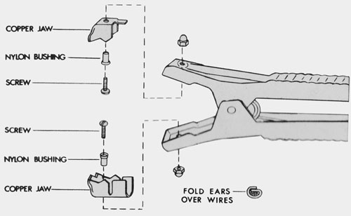 610970 Associated 500 Amp Jaw Kit (Repairs One Clamp)