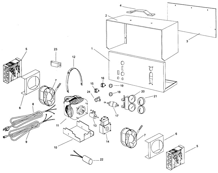PROMAX RG3300 Recovery Unit Parts