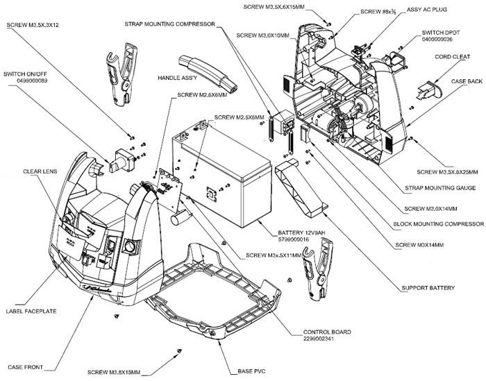 XP750C Schumacher 12 Volt 750 Peak Amp Instant Portable