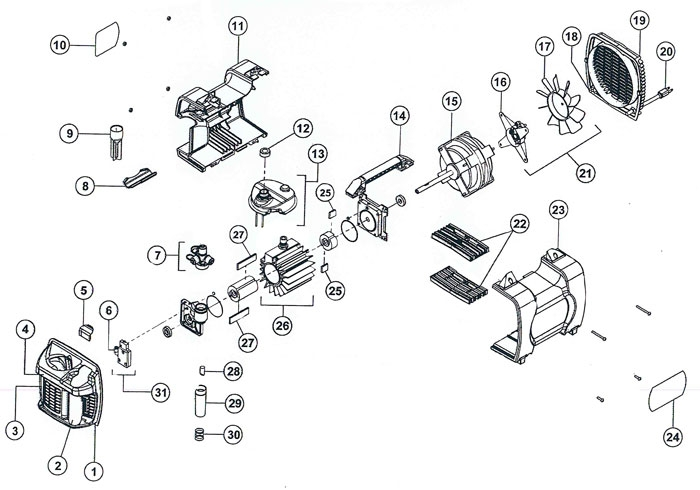 Vacuum Parts: Vacuum Pump Parts