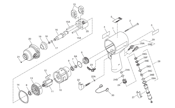 Air Tool: Air Tool Parts