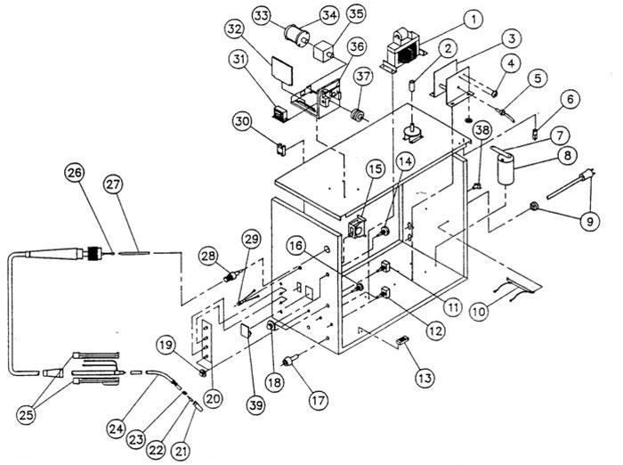 117-005 3Z836A Dayton 100 amp MIG welder (same as 3Z836)