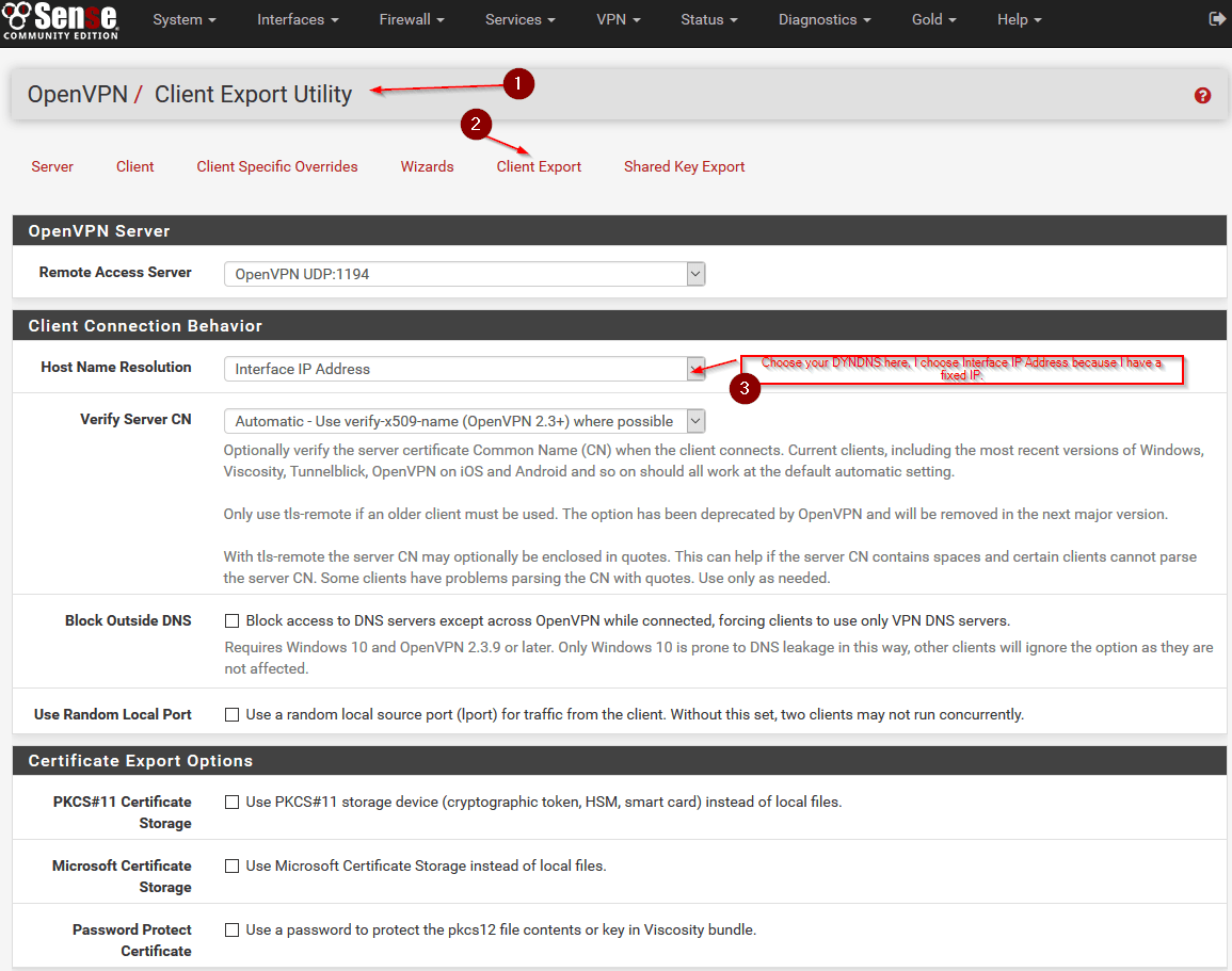 Configure openvpn for pfsense 23 step by step 172 scroll down until you find your openvpn clients choose the current windows installer and click on it to download remember to test the vpn xflitez Image collections