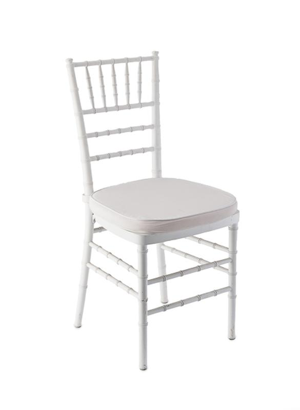 white cushion chair chairs dining table chiavari ballroom with