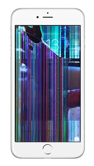 iPhone kırık ekran