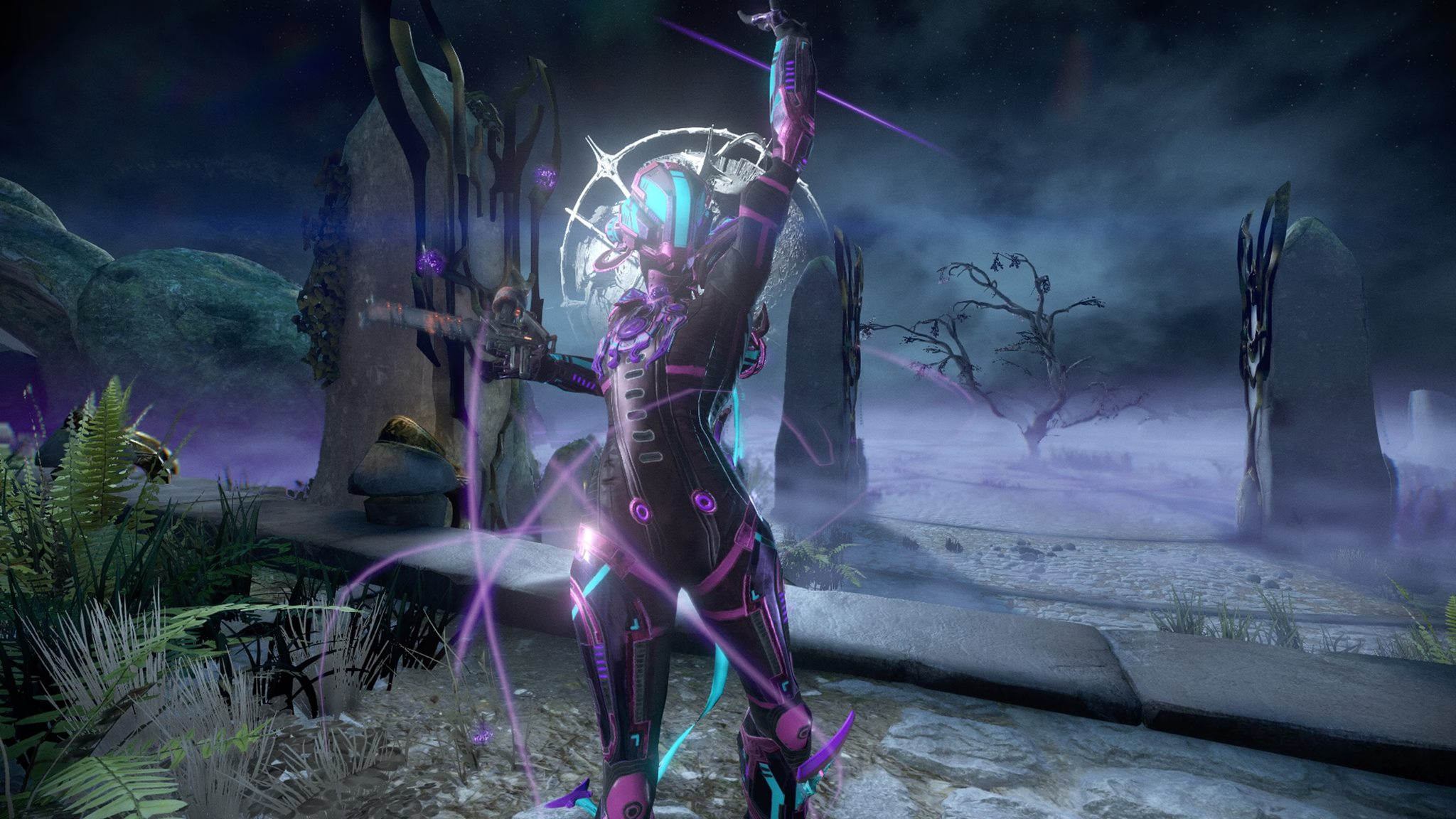 Warframe 101 Nova Cephalon Squared Nova uses electromagnetic energy to contain and control highly volatile antimatter that fuels her abilities. warframe 101 nova cephalon squared