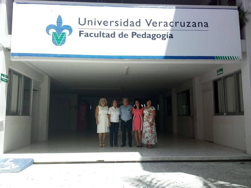 Visita de seguimiento al programa de Lic. en Pedagogía de la UV