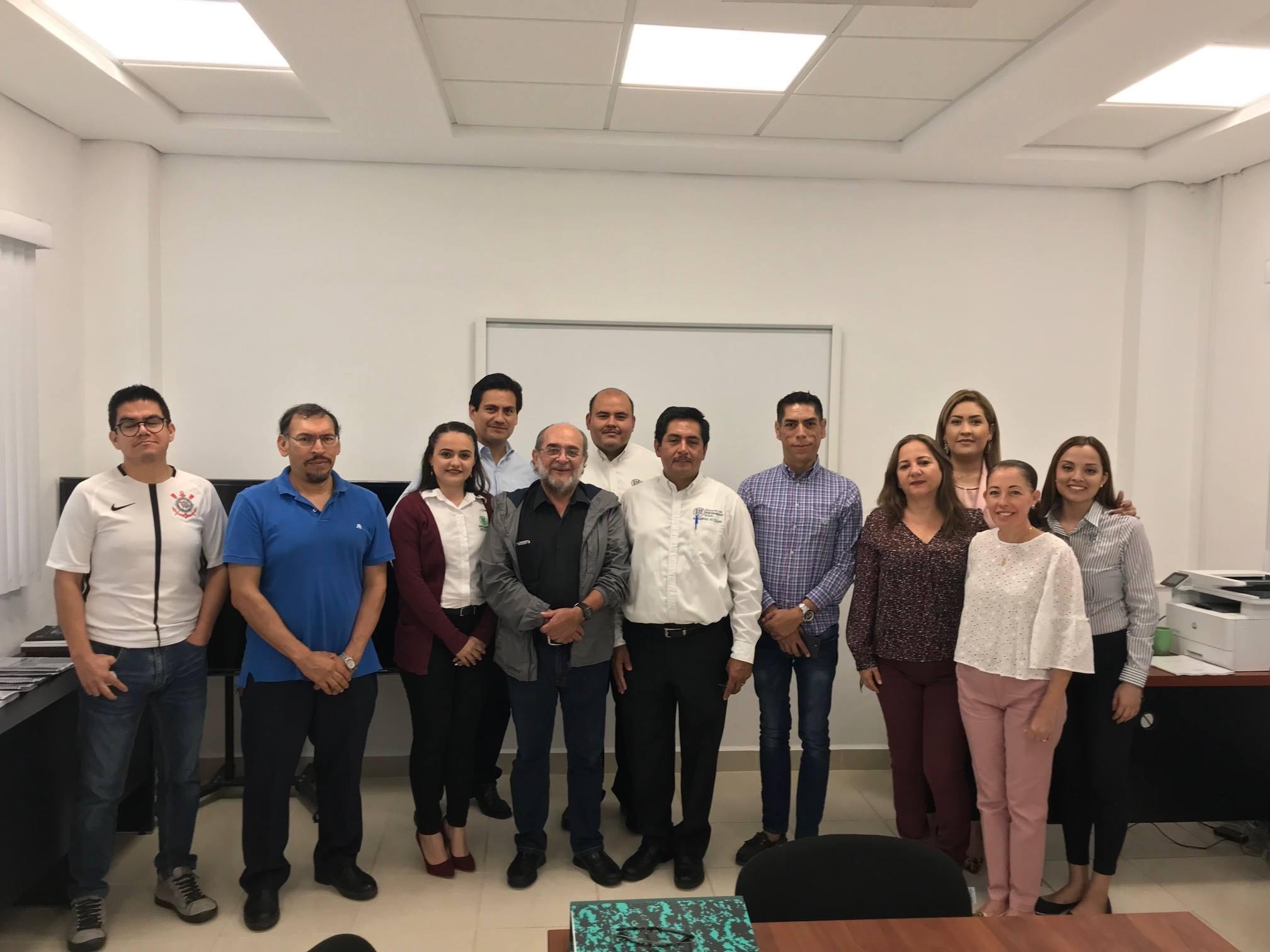 Visita de seguimiento a la Lic. en Pedagogía de la U. de Colima