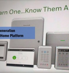 honeywell 2019 next gen security home automation is one platform for wired  [ 1200 x 660 Pixel ]