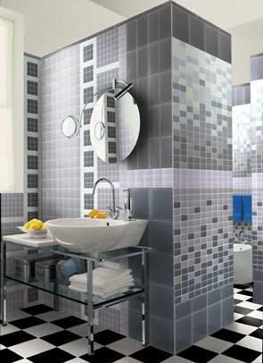Combinar azulejo y mosaico con estilo