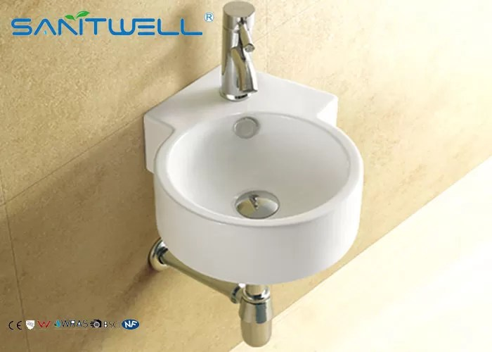 hotel ceramic wall mount bathroom sink for living room small wall mount sink