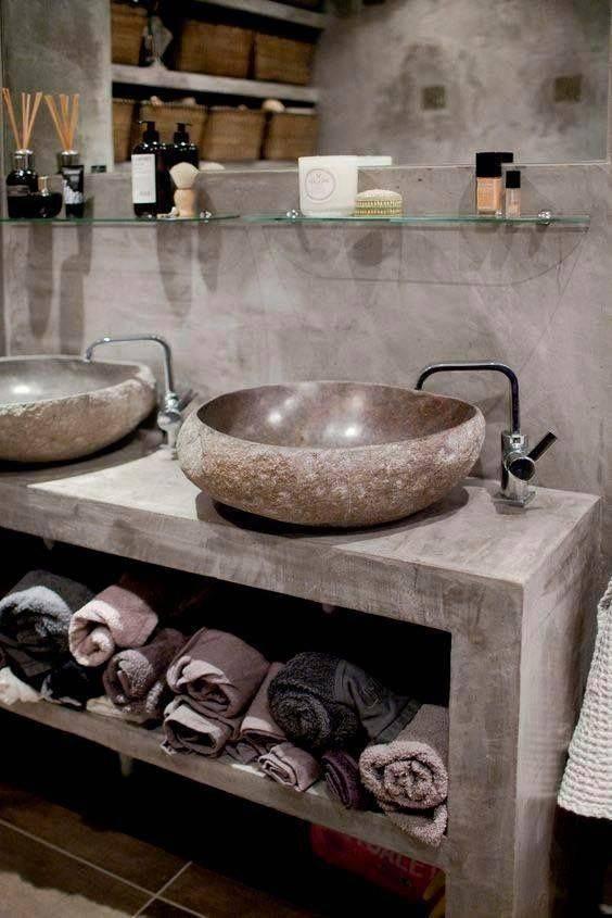 Meuble De Salle De Bain Pour Poser Une Vasque En Pierre Emaillee Dessus A Marseille Magasin De Carrelages Et Pierres Naturelles A Sarrians Ceramic 84