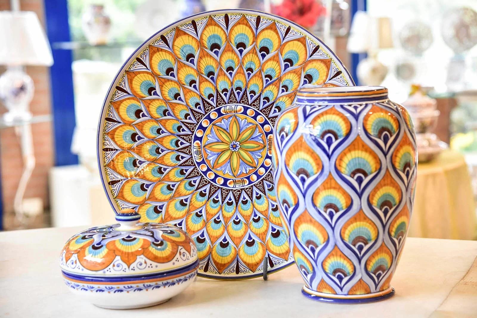 Piastrelle Ceramica Dipinte A Mano