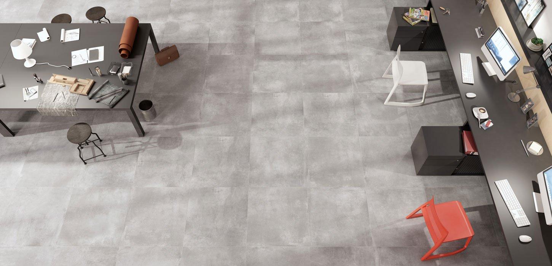 volcano cement effect floor covering