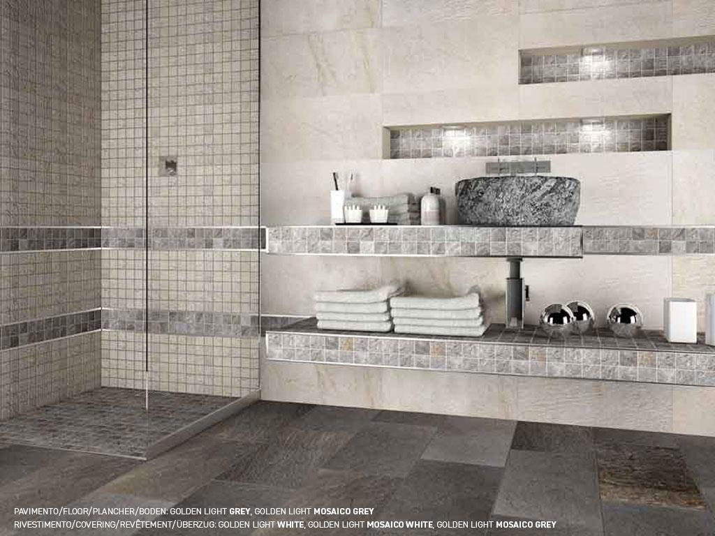 Quartz effect porcelain stoneware floorings and coverings