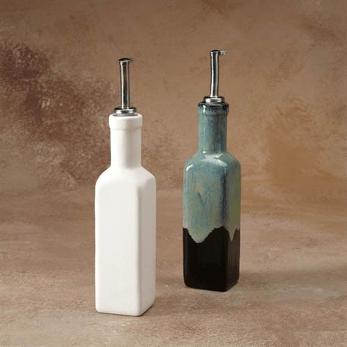 oil dispenser kitchen aid hand held mixer gare bisque olive ceramic arts 6 spo