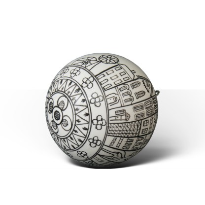 Cozy Town · Bola de Navidad de cerámica