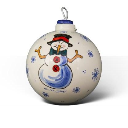 Chimpón · Bola de Navidad de cerámica