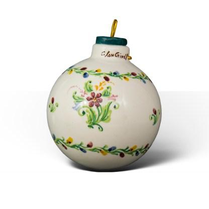 Christmas Creep · Bola de Navidad de cerámica