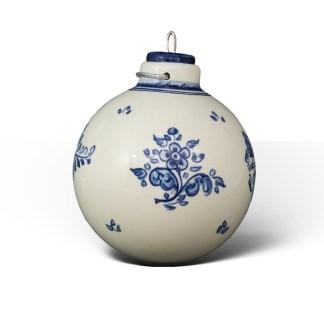 Flores in Blue · Bola de Navidad de cerámica