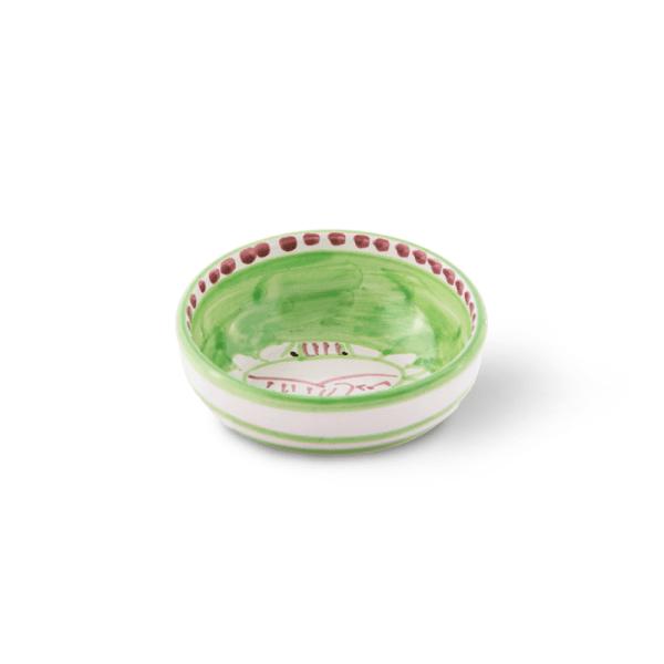 Handmade pottery pinzimonio bowl  Ceramica Assunta Positano