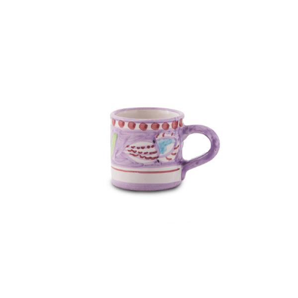 Handmade pottery coffee cup  Ceramica Assunta Positano