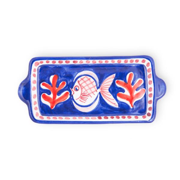 Handmade pottery mini tray  Ceramica Assunta Positano