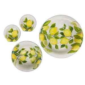Set 4 Ciotole Lemon Collection