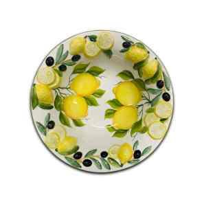 Insalatiera Limoni e Olive 34 cm