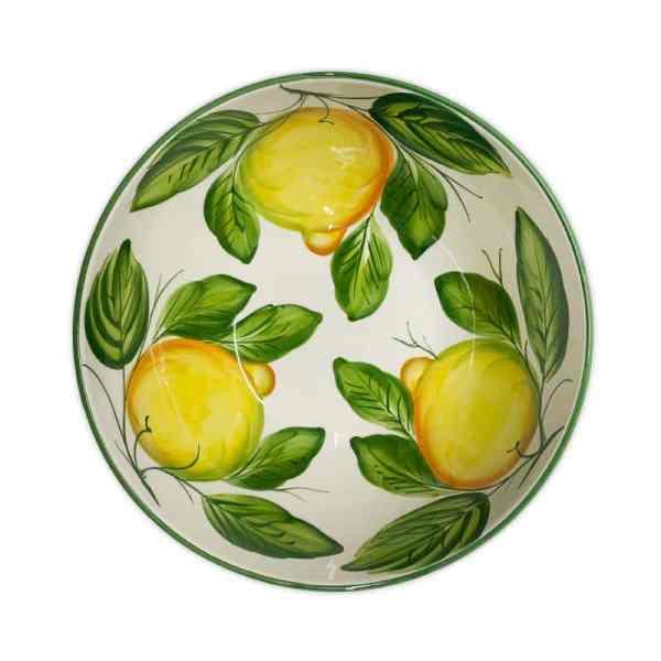 Insalatiera Limoni 30x13 cm