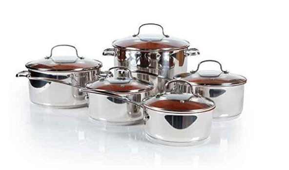 NuWave perfectgreen 10 piece ceramic cookware set