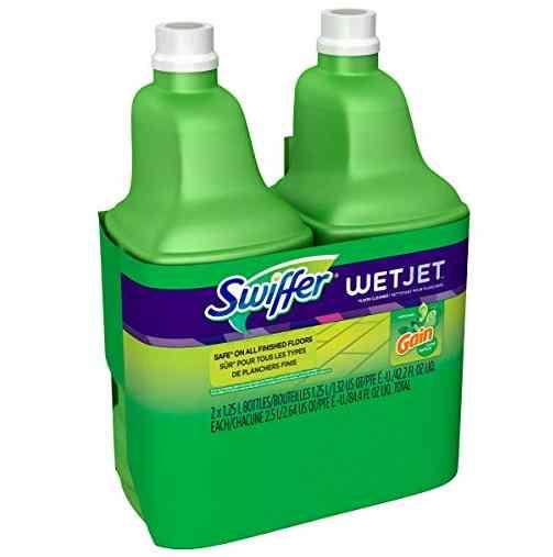 . Swiffer wet jet spray mop floor cleaner