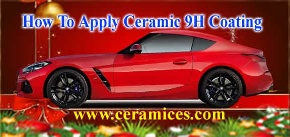 how to apply 9h ceramic coating