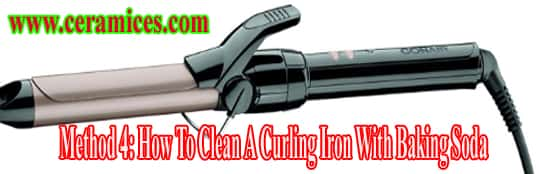 How To Clean A Curling Iron With Baking Soda