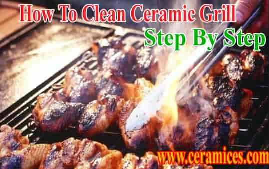 How to clean ceramic grill grates