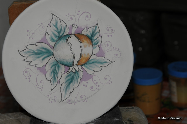 Corsi di pittura su ceramica  Ceramiche Goretti